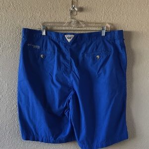 Men's Columbia PFG Shorts performance fishing gear